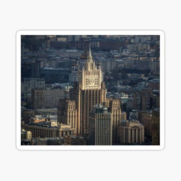 Russian Foreign Ministry, Ministry of Foreign Affairs of the Russian Federation Sticker