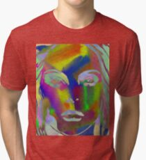 Peer Out Of Colour Tri-blend T-Shirt