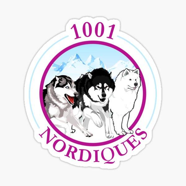 1001 nordiques Sticker