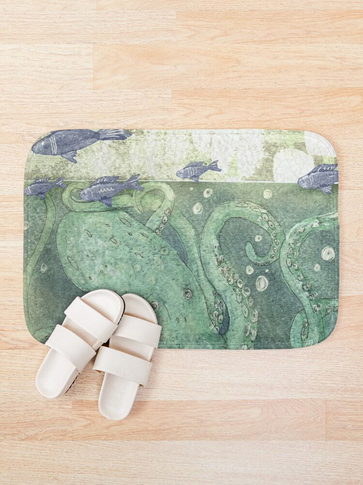 Alternate view of Here Be Monsters Bath Mat