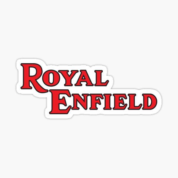 Royal Enfield Chemise Sticker
