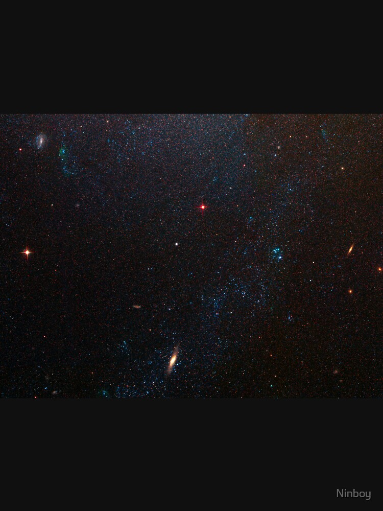 Hubble Space Telescope - Spiral Galaxy M81 Details 6 (2007) by Ninboy