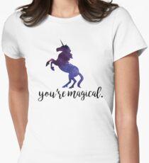Eres mágico - Unicornio Camiseta entallada