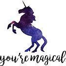 «Eres mágico - Unicornio» de SarGraphics