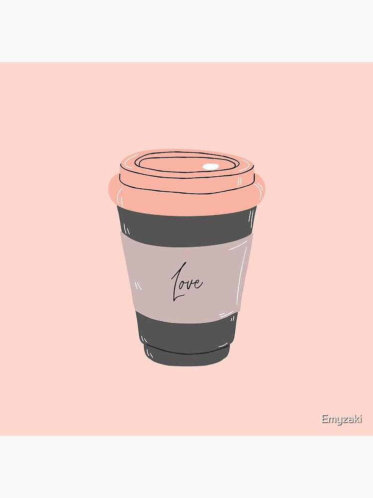Coffee sticker by Emyzaki