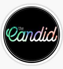 The Candid Sticker