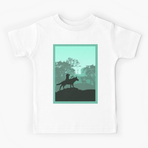 Nature Hero Princess - Style de voyage minimaliste - Art Anime T-shirt enfant