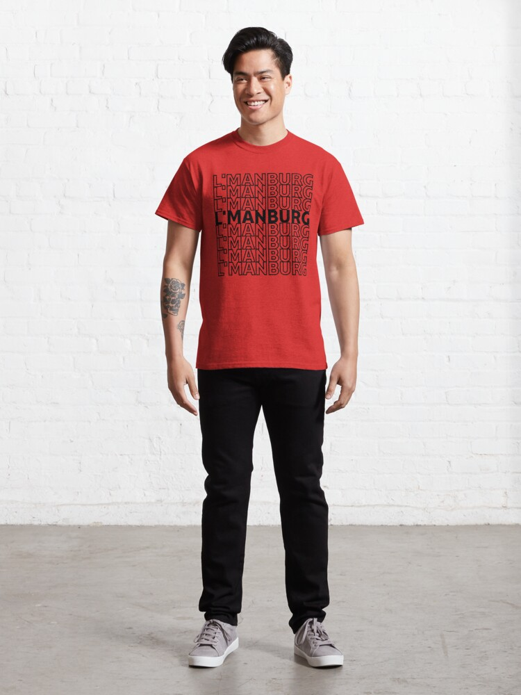 Alternate view of Repeated L'manburg Cute Classic T-Shirt
