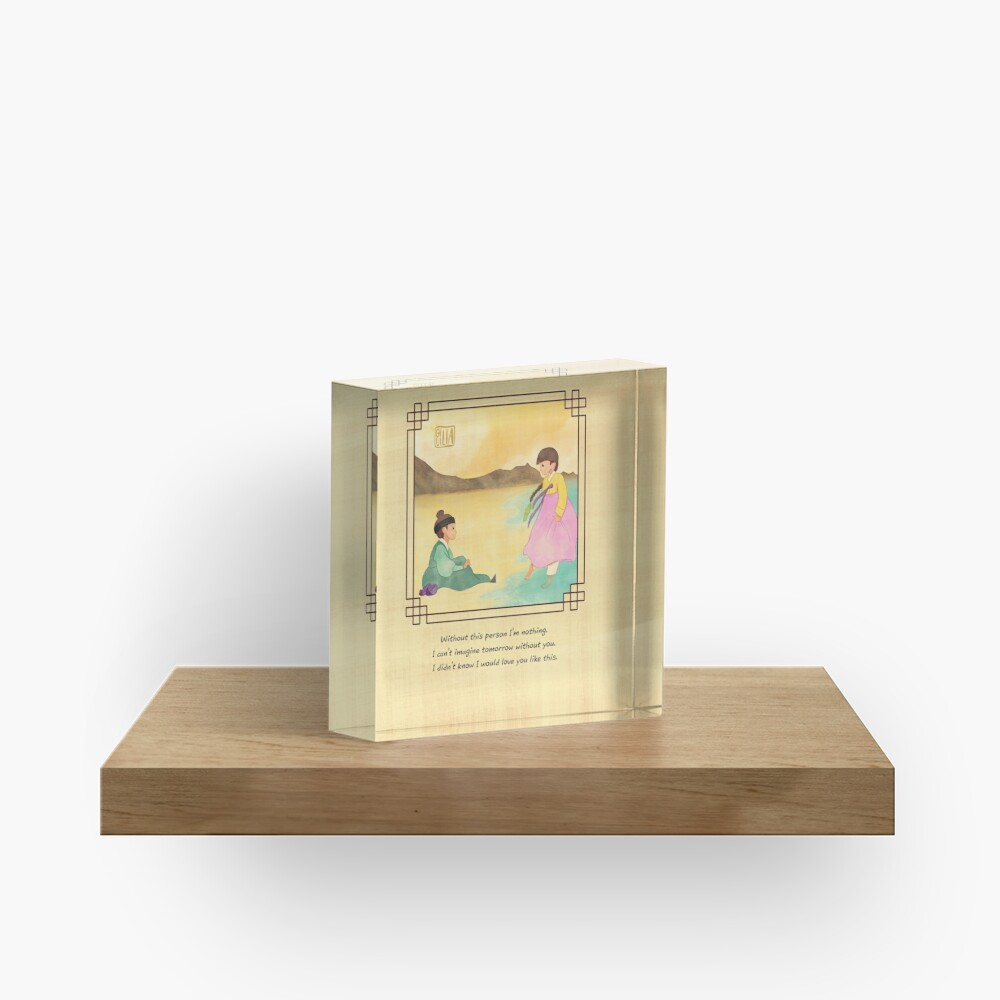 my heart in your eyes 36 Acrylic Block