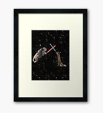 Star Wars the Koala strikes back Framed Print