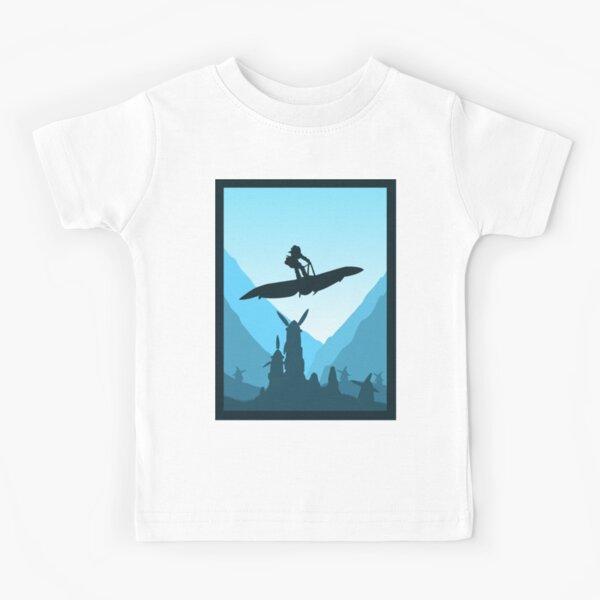 Princesse de la vallée - Style de voyage minimaliste - Art Anime T-shirt enfant