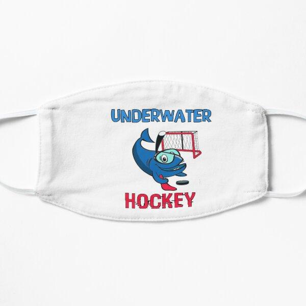 UNDERWATER Hockey, Funny Shark Flat Mask