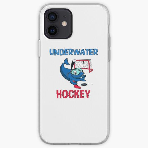 UNDERWATER Hockey, Funny Shark iPhone Soft Case