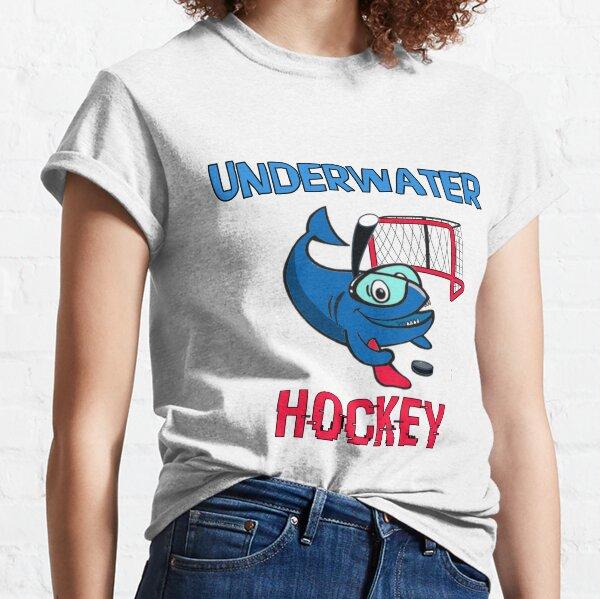 UNDERWATER Hockey, Funny Shark Classic T-Shirt