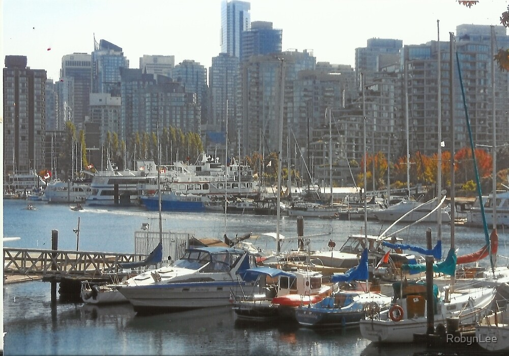 Boats & Buildings by RobynLee