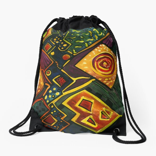 GALAXY SPARKLES Drawstring Bag