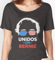 Unidos Con Bernie Shirt and Fundraising Gear Women's Relaxed Fit T-Shirt