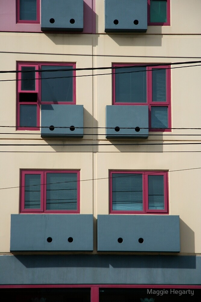 Little boxes and they all look just the same by Maggie Hegarty