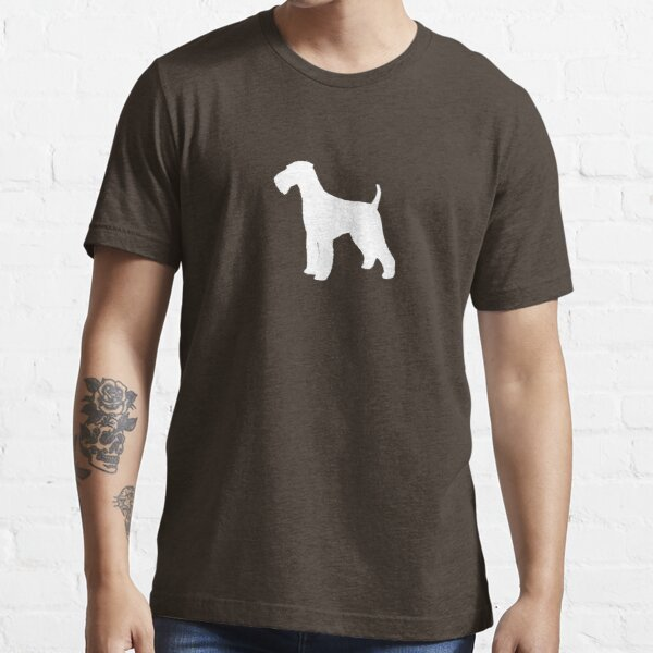 Airedale Terrier Silhouette(s) Essential T-Shirt