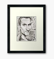 9th Doctor by Sheik Framed Print