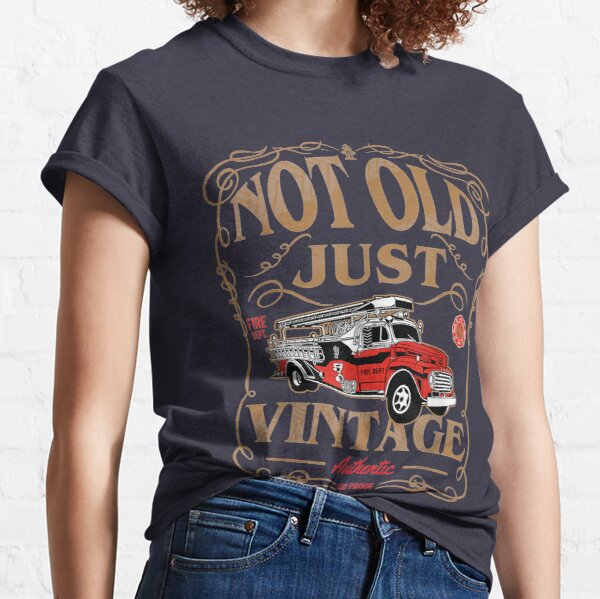 Retired Firefighter Gift For Old Fireman Fire Fighter Classic T-Shirt