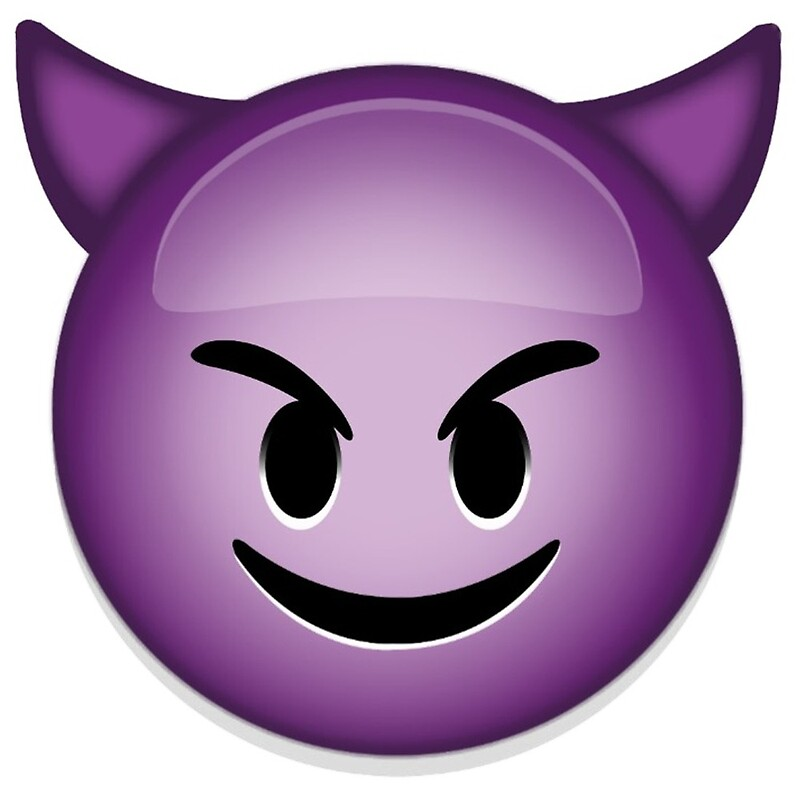 Quot Evil Emoji Quot By Bryce12334 Redbubble