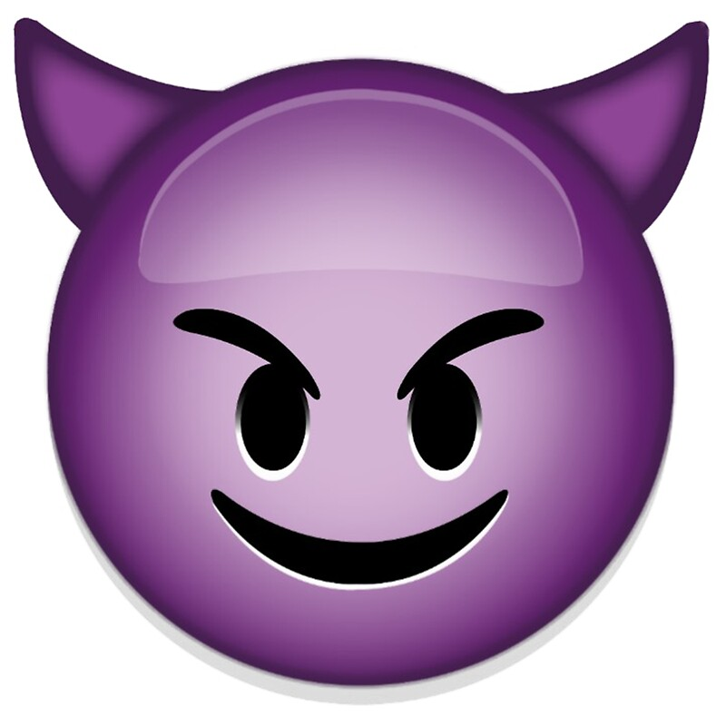 Quot Evil Emoji Quot Stickers By Bryce12334 Redbubble