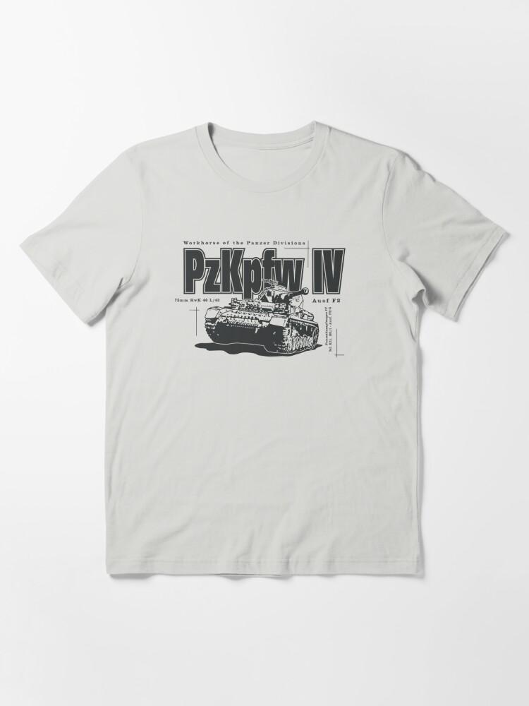 Alternate view of Panzer IV Essential T-Shirt