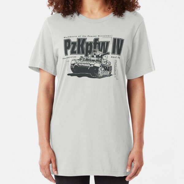 Panzer IV Slim Fit T-Shirt