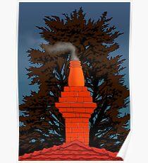 Chimney Smoke Poster