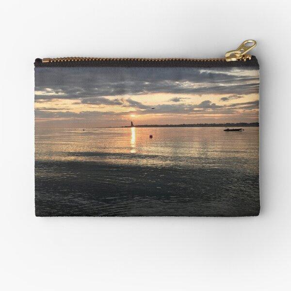 Sonnenaufgang Kiel Laboe. Täschchen