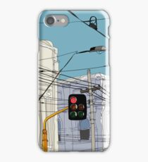 Melbourne Street Scene iPhone Case/Skin