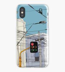 Melbourne Street Scene iPhone Case/Skin