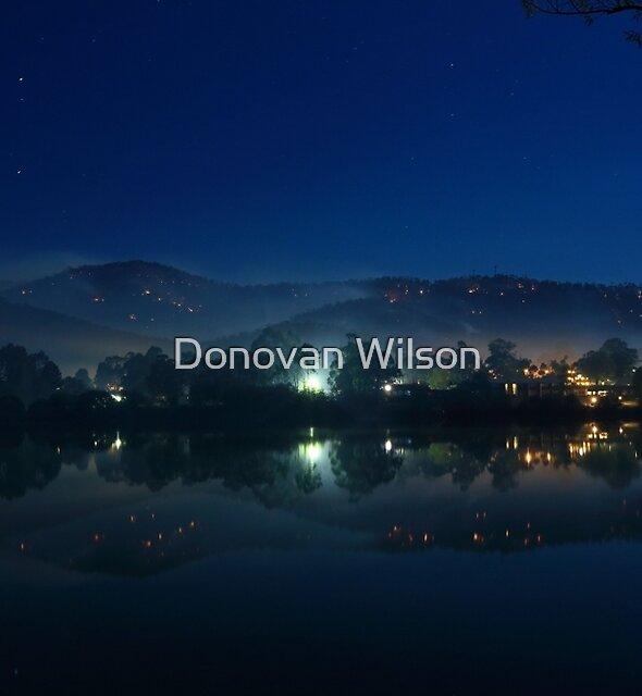 Eildon Pondage  by Donovan Wilson