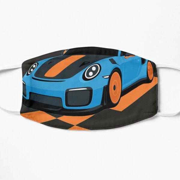 Porsche 911 Bleu GT2 Masque sans plis