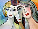 three women by Marianna Tankelevich