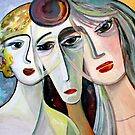 three women by Marianna Tankelevich