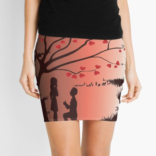 San Valentin Minifalda