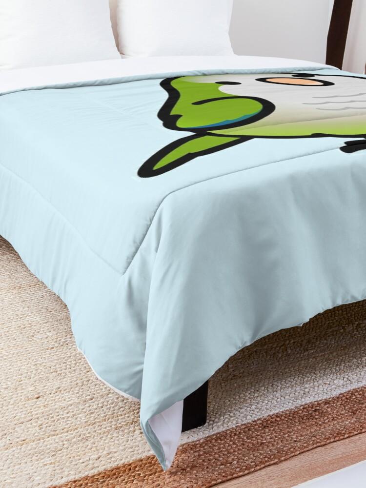 Alternate view of Custom Chubby Quaker Parrot - Chely Comforter