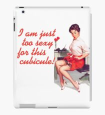 Sexy Office Pin-Up Mouse Pad iPad Case/Skin