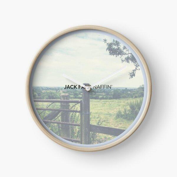 Naffin' - Artwork Clock