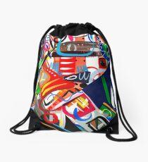 Abstract #7 Drawstring Bag