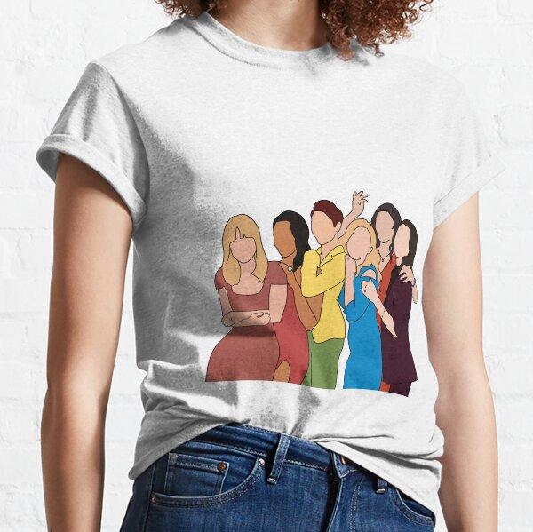 Super nette weibliche Besetzung Classic T-Shirt