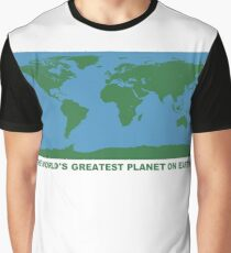 The World's Greatest Planet On Earth - ONE:Print Graphic T-Shirt