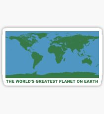 The World's Greatest Planet On Earth - ONE:Print Sticker