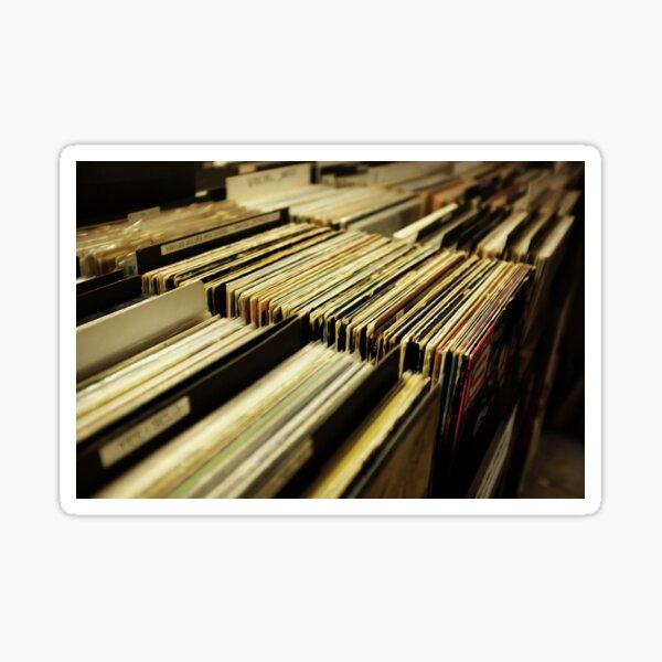 Vinyl Music Sound Old Technology Record  Sticker