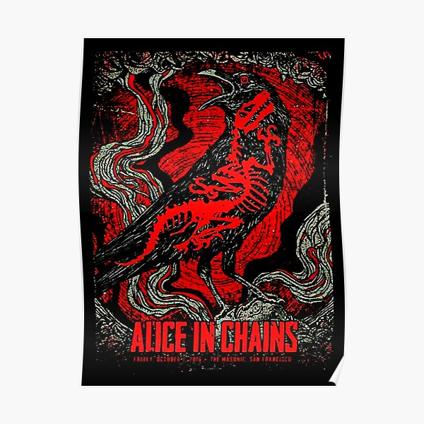 POSTER COVER - ALICE IN CHAINS Poster