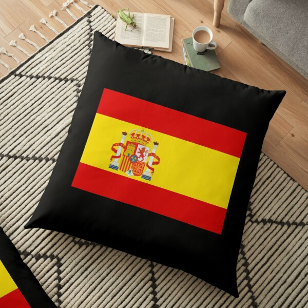 spain flag coat of arms bandera españa Floor Pillow