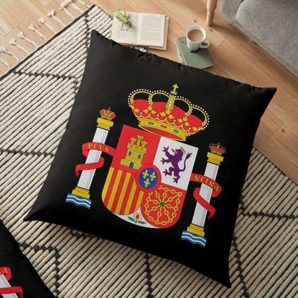 spain coat of arms escudo españa Floor Pillow