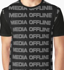 Media Offline Graphic T-Shirt